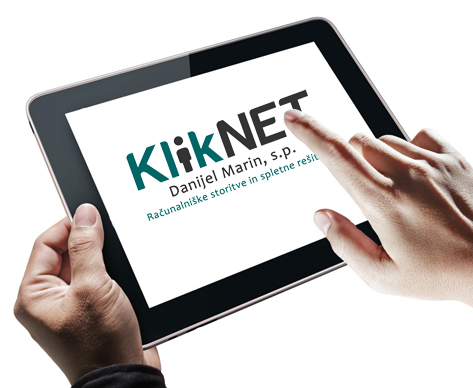 KlikNET iPad Touch